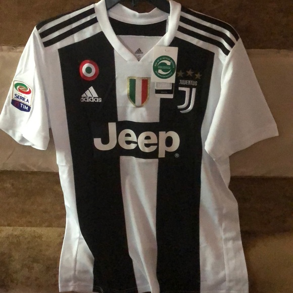 quality design a18eb c6db5 Juventus Home Jersey Ronaldo #7 in Sm, Med and Lg NWT